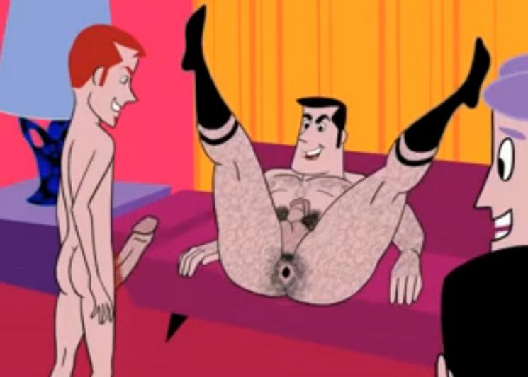 Gay Cartoon Twist Party