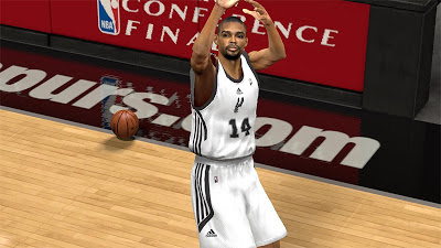 NBA 2K13 Gary Neal Cyberface Patch