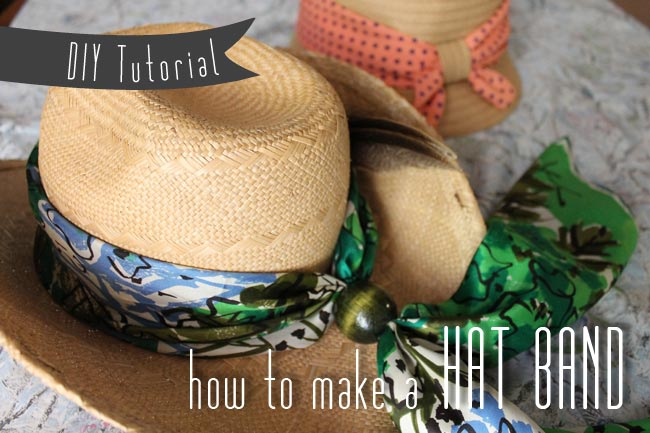 Easy Louise Band Easy Diy Hat Band