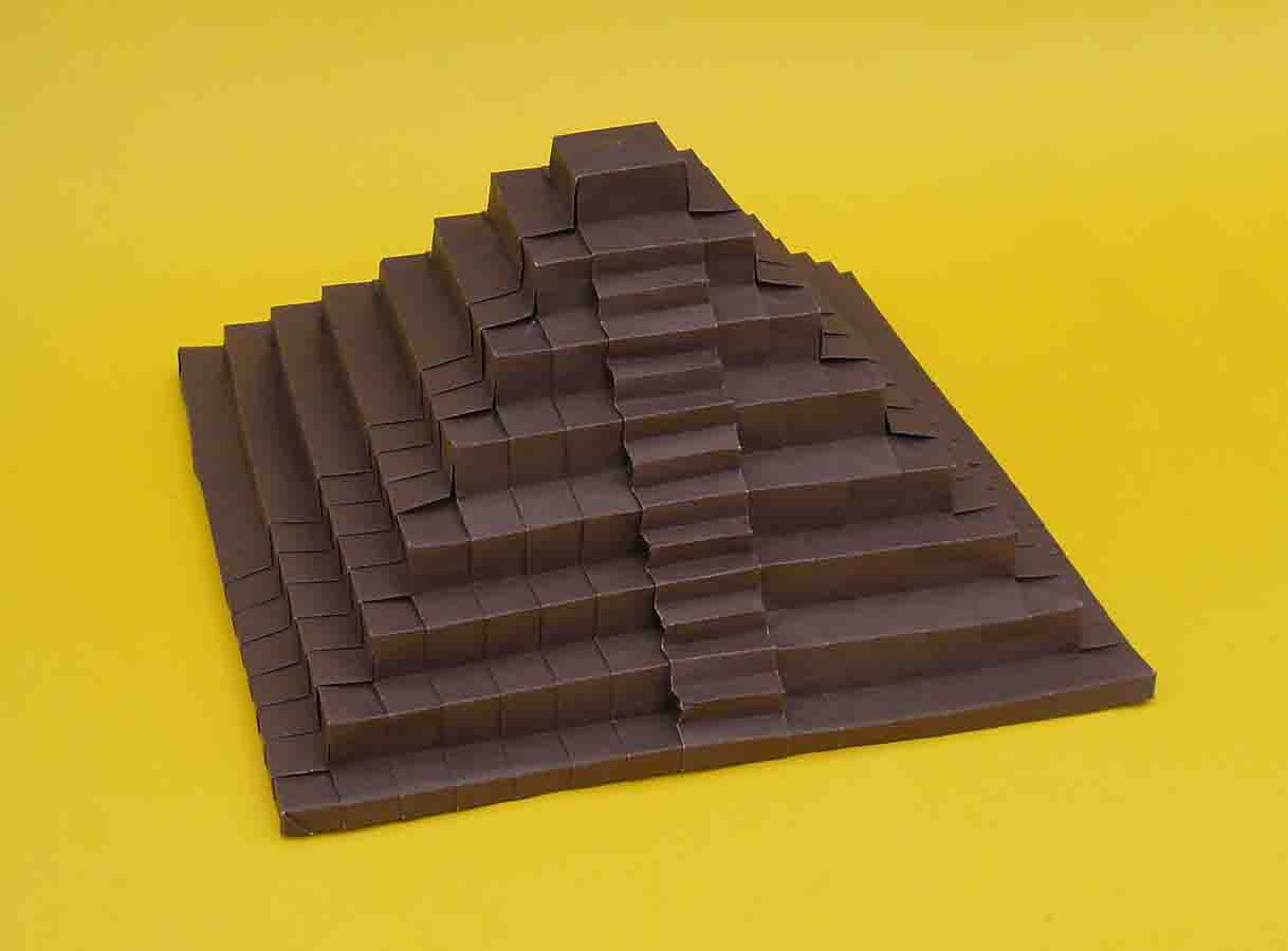 como hacer una piramide de origami jo nakashima