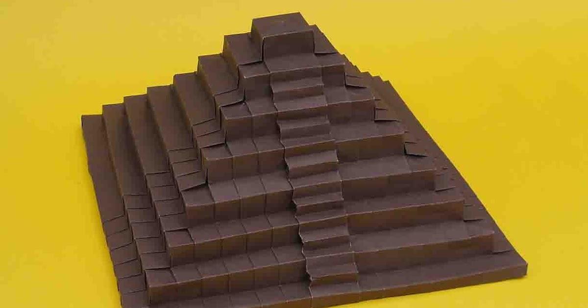 Como hacer una piramide de origami jo nakashima - Como hacer una claraboya ...