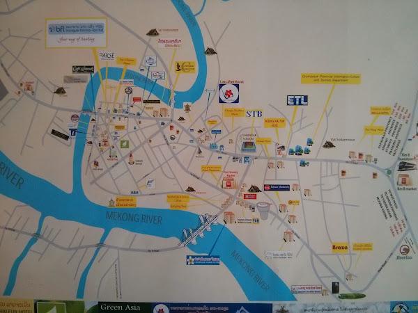 Mapa de Pakse