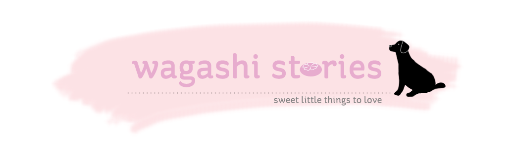 Wagashi stories