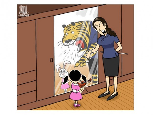are you a tiger mother or Chinese author amy chua's book battle hymn of the tiger mother has  pace,  make things instead of buying the best you get the picture.