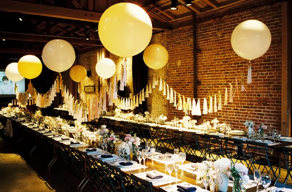Balloon themed wedding lots of love susan for Ballon wedding decoration