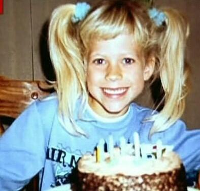 Avril Lavigne de niña
