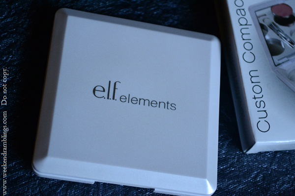 ELF empty eyeshadow palettes custom compact essentials elements reviews