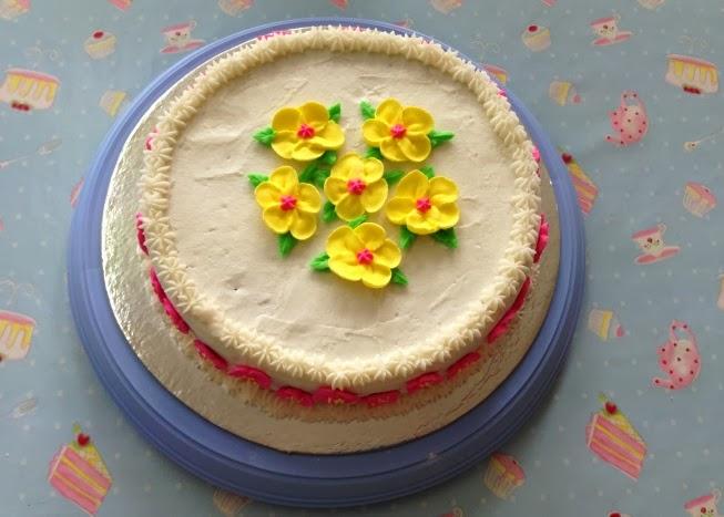 100+ [ Wilton Course 1 Cake Ideas ] Sweet Garden Cake,Wilton Cake Decorating Course 1 In ...
