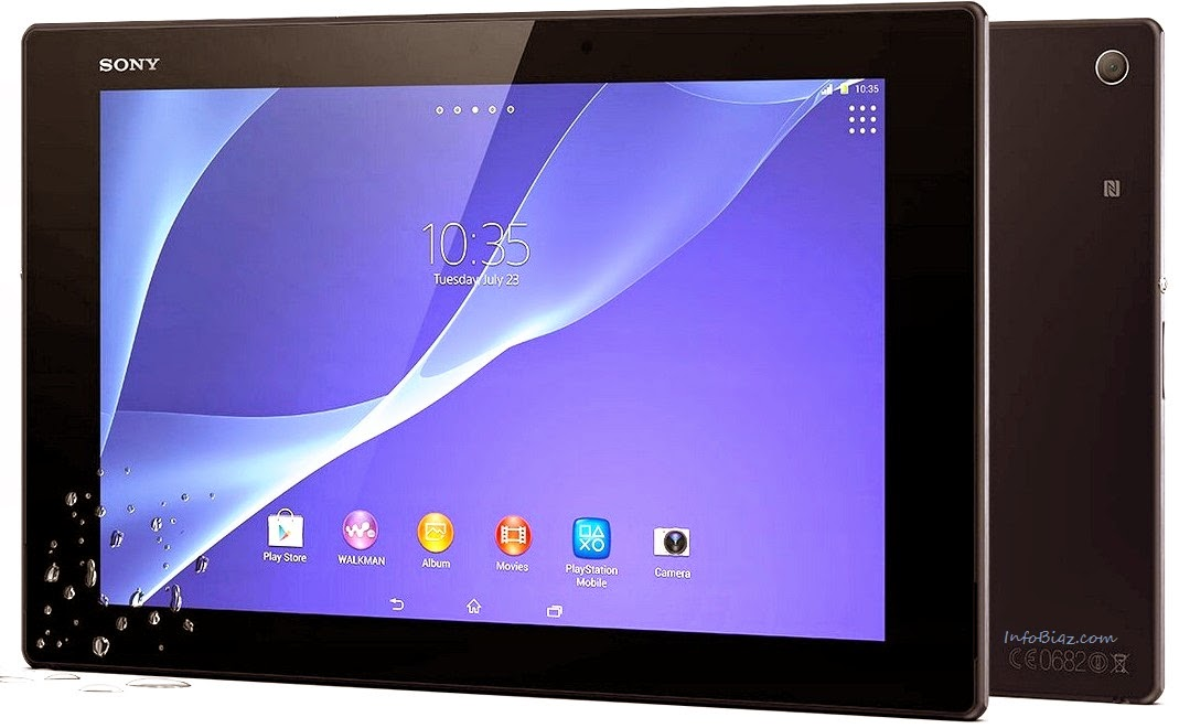 sony xperia z2 tablet reviews tech news reviews. Black Bedroom Furniture Sets. Home Design Ideas