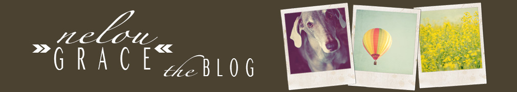 n e l o u G R A C E » the blog