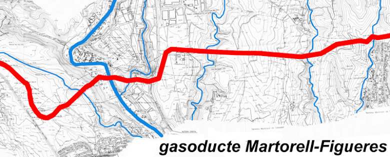 Gasoducte Martorell-Figueres