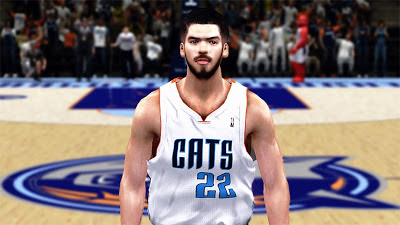 NBA 2K13 Byron Mullens Cyberface Mod