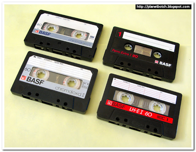 1980s Audio Tapes