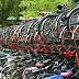 Amsterdam tejados para sus aparcamientos automáticos de bicicletas.