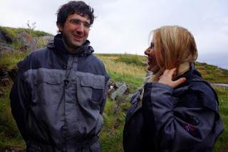 Echecs à Tromsø : Kramnik et Susan Polgar lors de la journée de pêche
