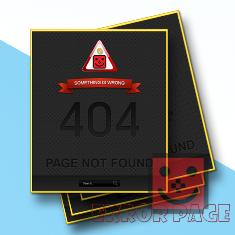 Menciptakan Halaman Error Page Valid HTML 5