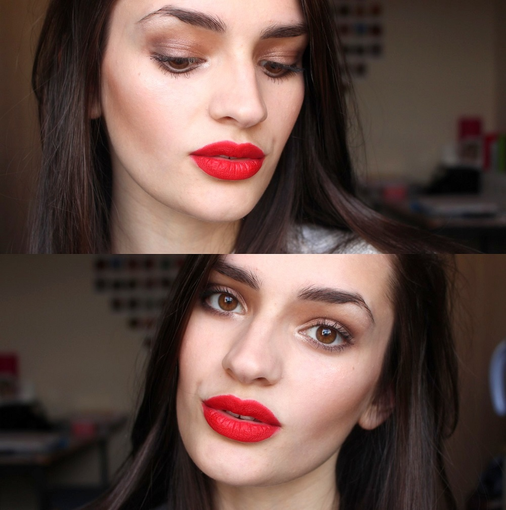 Red Lip for Valentine's