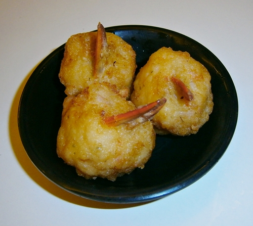 crab pincers fried dim sum
