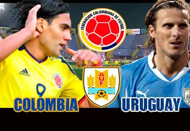Colombia vs. Uruguay live 2014 FIFA