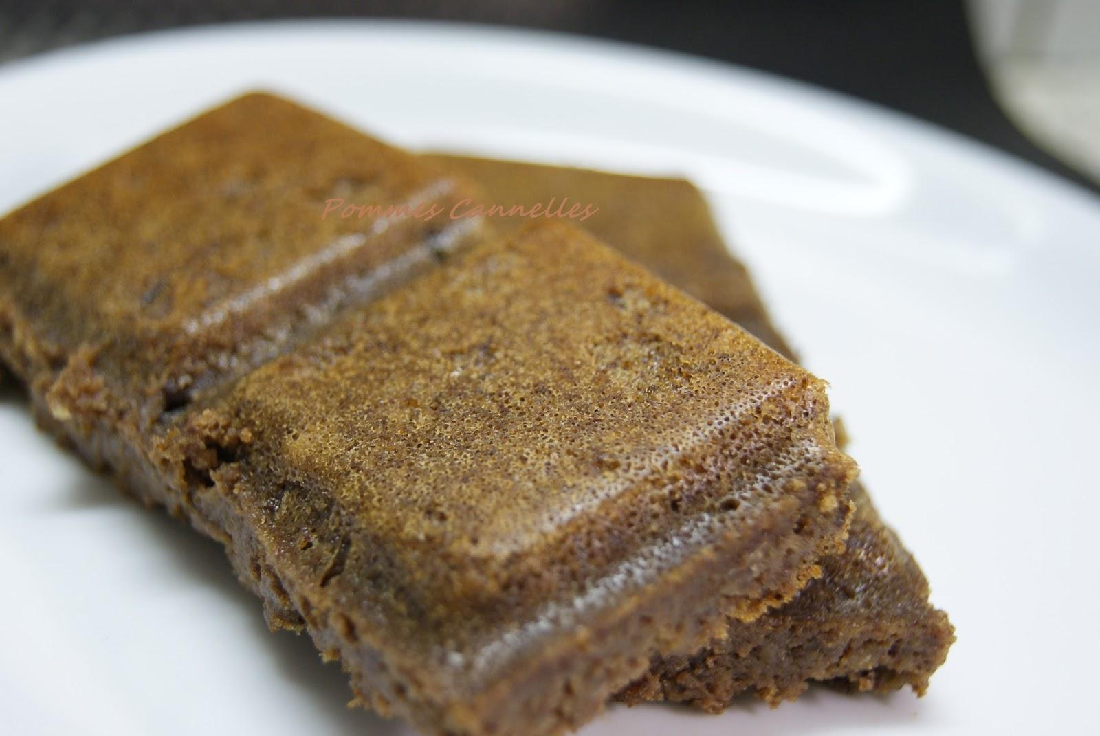 Pommes cannelles g teau au chocolat et haricots blancs - Comment cuisiner un gateau au chocolat ...