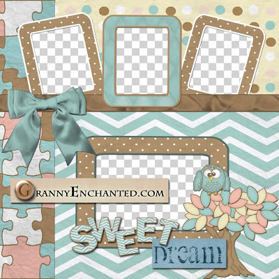 "Free ""Baby"" Digital Scrapbook Quick Page"