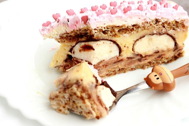Mančmelou torta -  Munchmallow