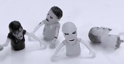 Kim Wan Seon BEAST Junhyung Be Quiet finger puppets monsters