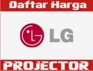 Harga LG Proyektor  Agustus 2016