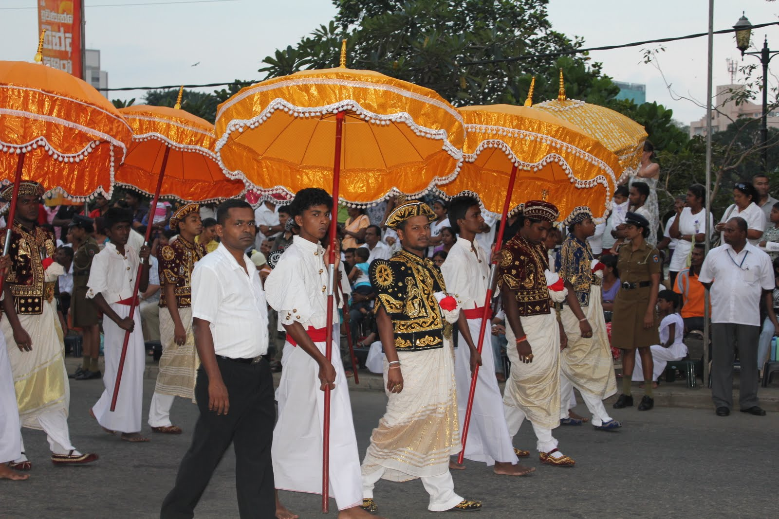 The entire organization of the Perahera is handled by the young people  associated with the