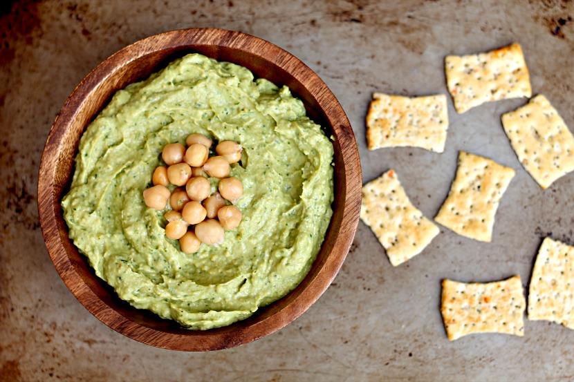 Avocado Hummus {SRC}