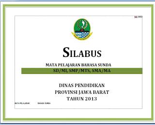 Warta Urang Galuh Donwload Silabus Dan Rpp Bahasa Dan Sastra Sunda 2013 Semua Tingkat
