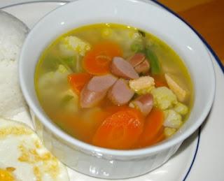 Resep Masakan Sup Sosis Bakso Lezat Dan Gurih