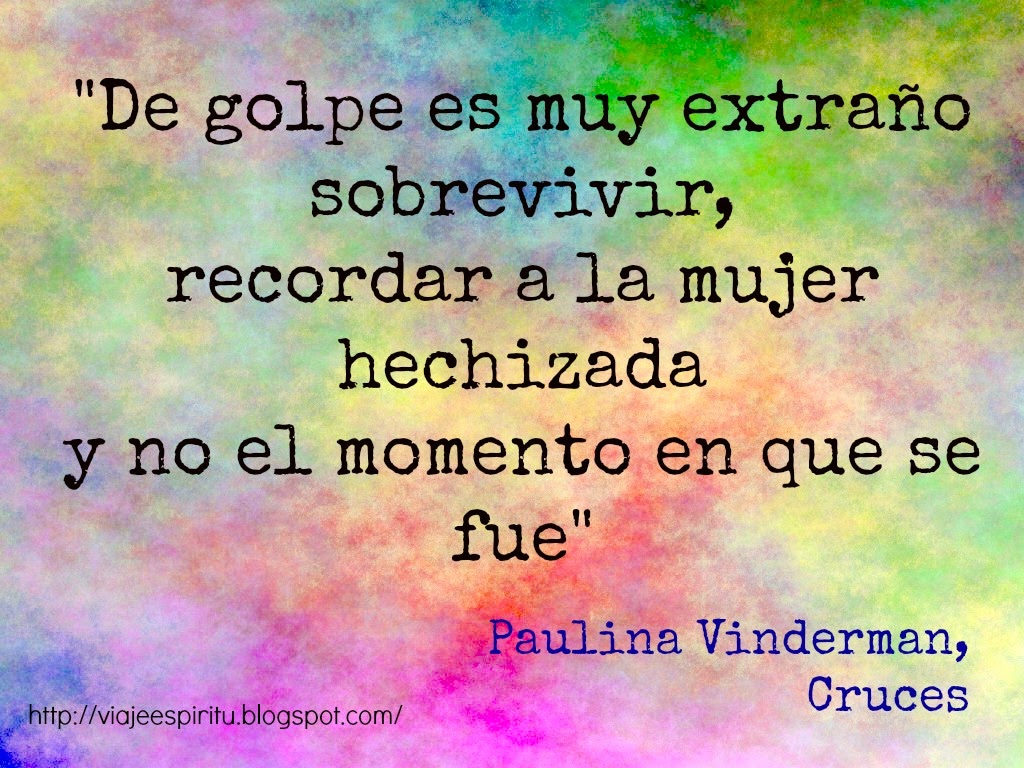 Cruces, Paulina Vinderman