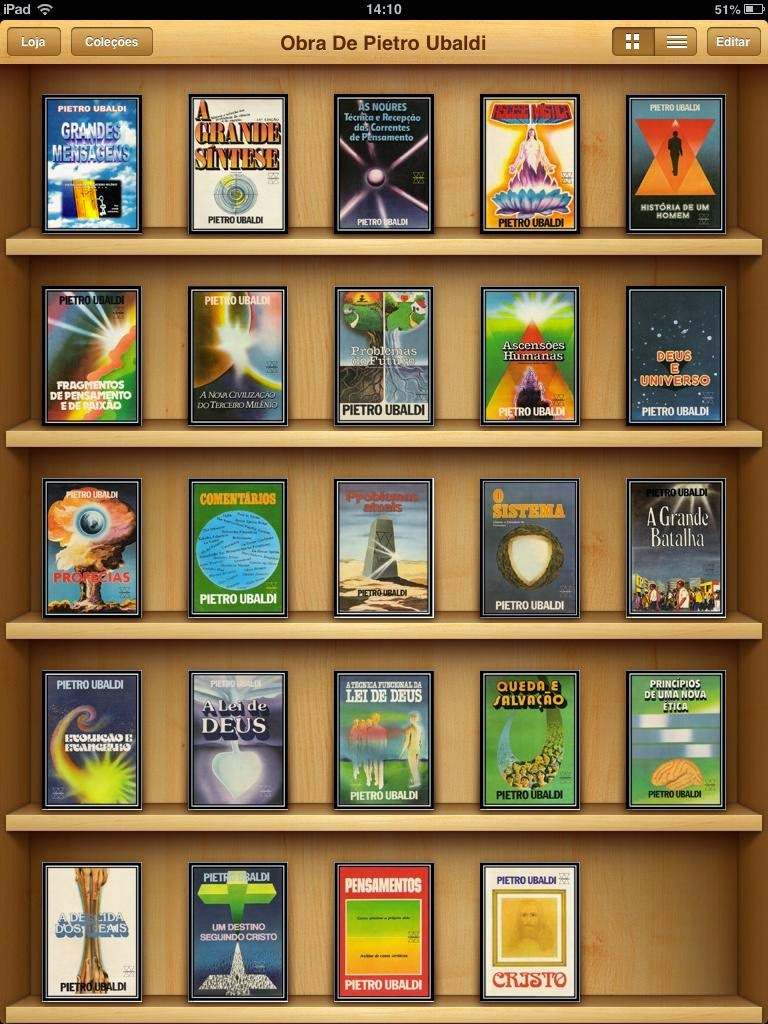Download da Obra Completa de PIETRO UBALDI para iBook (iPad)