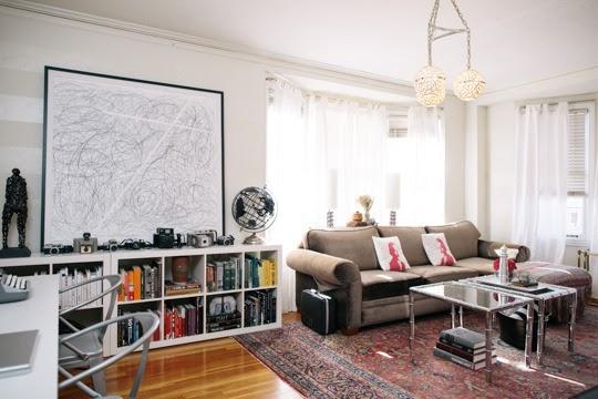 M nica castillo pintar una pared con rayas horizontales - Pintar paredes a rayas horizontales ...