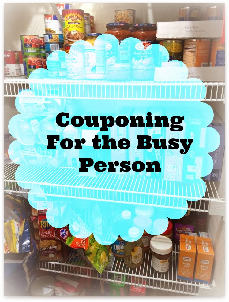 Couponing For the busy person #Coupon
