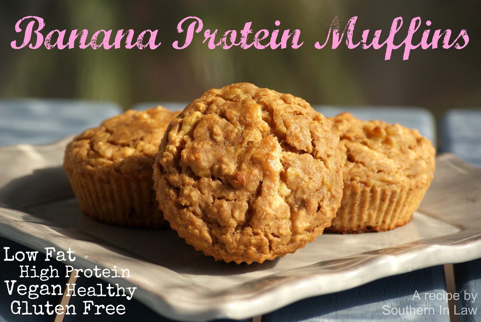 Southern In Law: Recipe: Banana Protein Muffins
