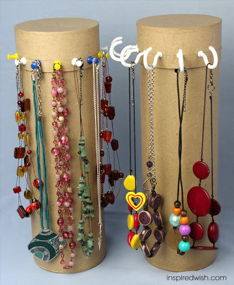 11 dazzling diy jewelry stand abcdiy for Diy travel earring holder