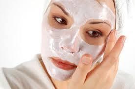 chăm sóc da từ mặt nạ bột gạo