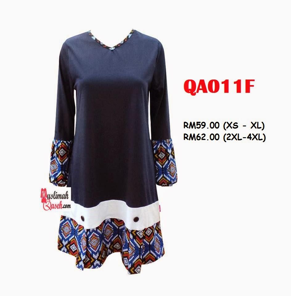 T-Shirt-Muslimah-Qaseh-QA011F