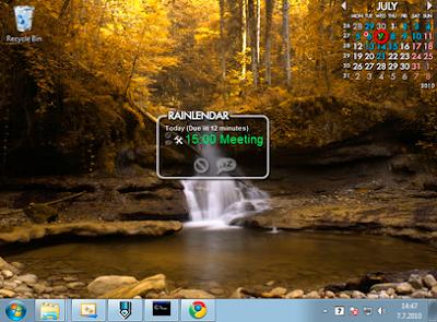Rainlendar Pro 2.10 Build 120 Final (x86) + Keygen
