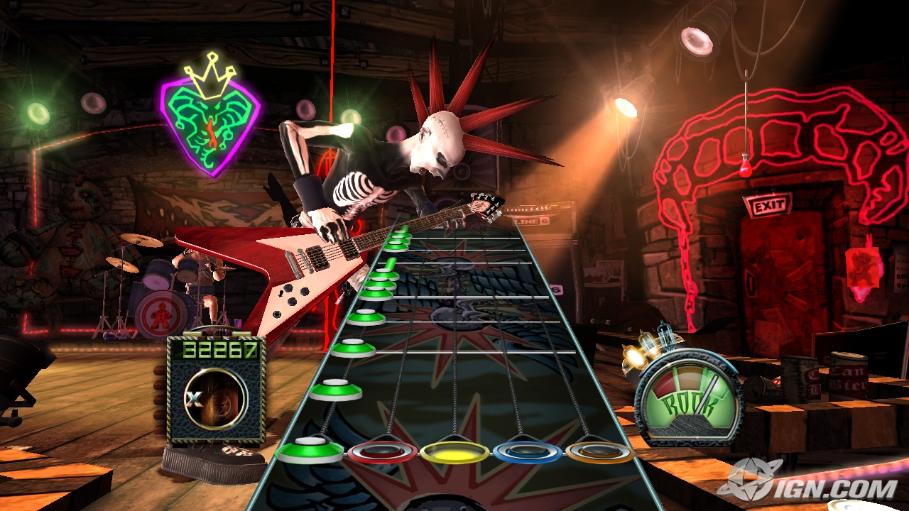 MenShadowh: Guitar Hero 3: Legends of Rock ...