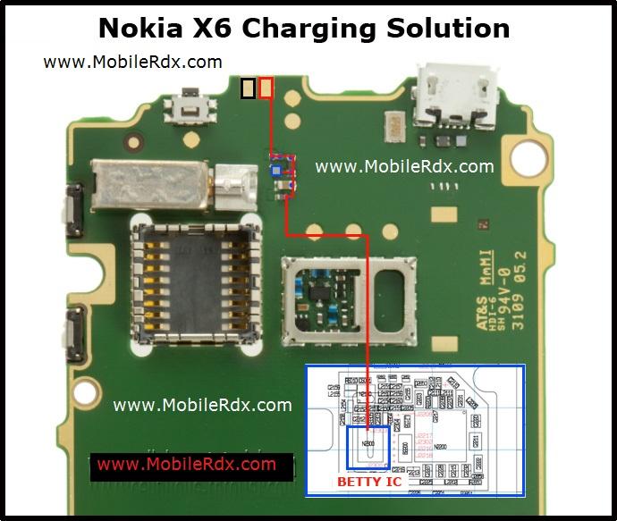 nokia x6 not charging via usb nokia x6 not charging jumper solution ...