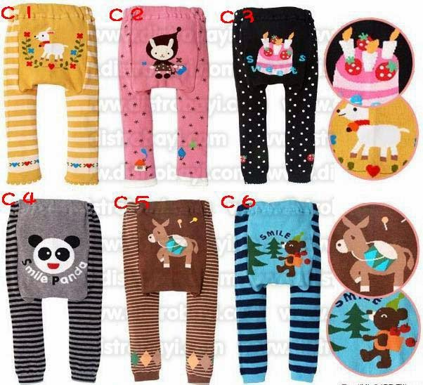 Model Legging Bayi Lucu Branded