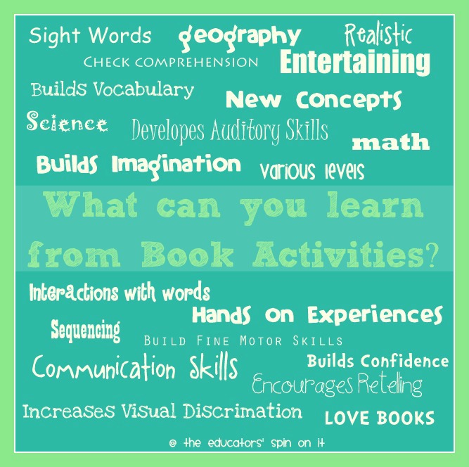 What can you learn from book activities