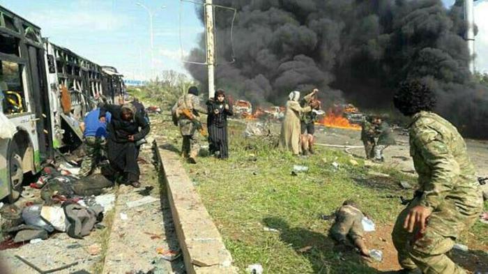 Siria: Autobomba sui profughi in fuga ad Aleppo