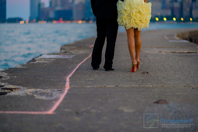 North Avenue Beach Engagement Session