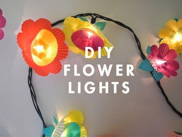 Cara Membuat Kerajinan Tangan Dari Kertas - Lampu Bunga Kertas