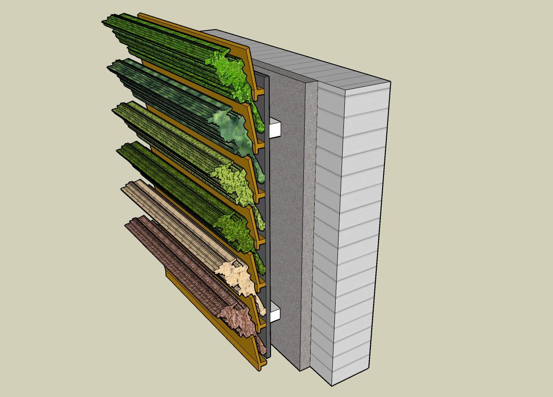 Jardines verticales en canarias for Edificios con jardines verticales