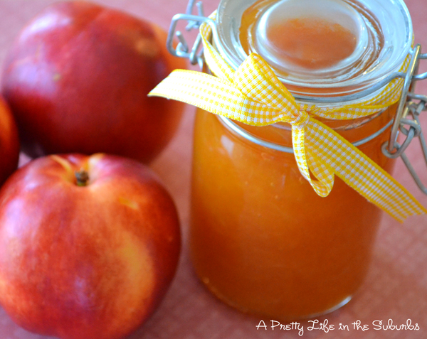 Easy Peach Jam - A Pretty Life In The Suburbs